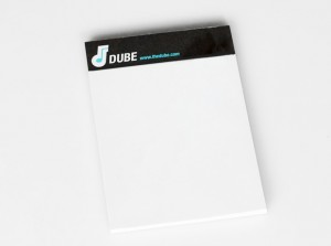 the dube notepad