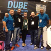Day 1 NAMM - The Dube Team and Karl Brazil