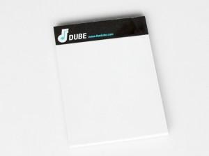 the dube notepad